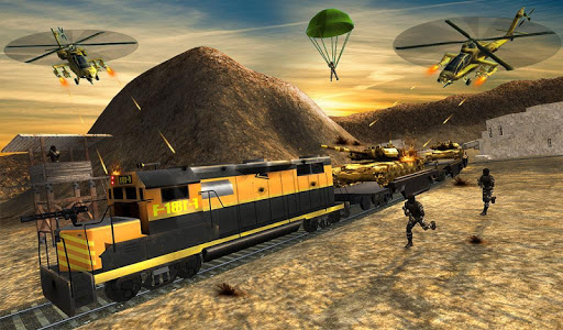 Futuristic Train Real Robot Transformation Game for PC