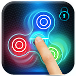Fidget Spinner Fingerprint Lockscreen Icon