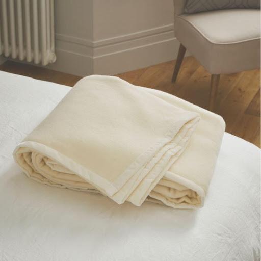 John Atkinson Elizabeth Lambswool Blanket