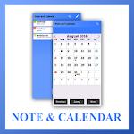 Simple Note Calendar List App