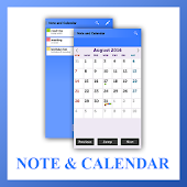 Simple Note Calendar List App