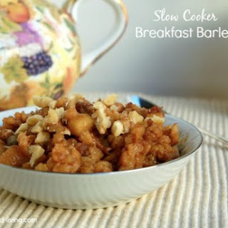 Crock Pot Barley Breakfast Recipes.