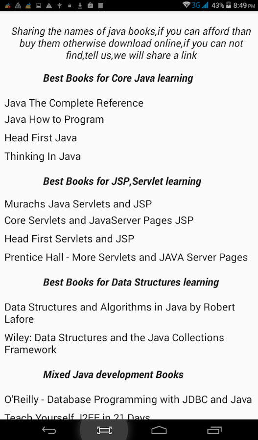 java tutor Choose from top rated online java tutors affordable help available through video chat and whiteboards from $20/hr no commitments.