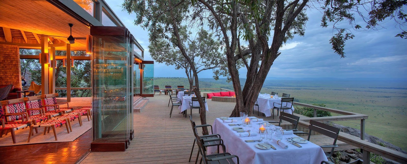 Angama Mara is the perfect honeymoon destination in Kenya