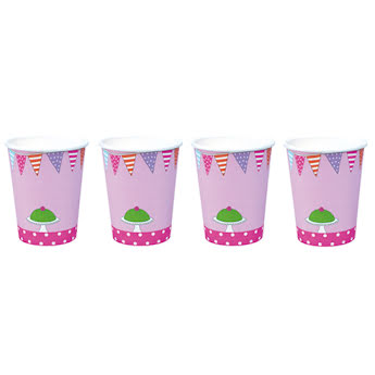 Cup birthday pink