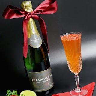 Champagne Bellini Recipes.