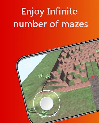 Maze game 3D - Maze Runner Labyrinth puzzle 10 Cheat screenshots 1