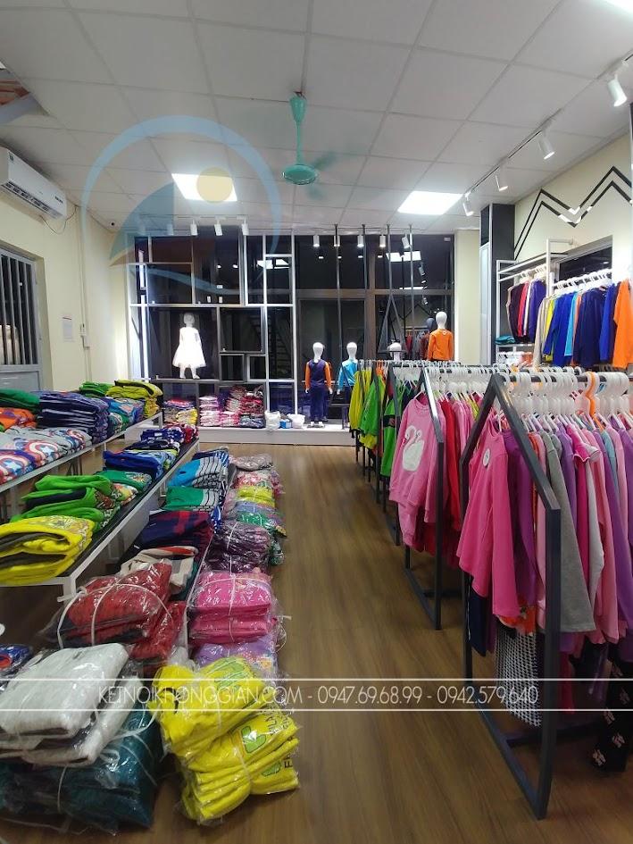 thi công shop quần áo trẻ em