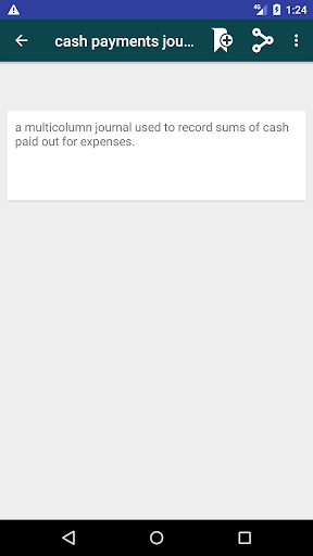 Screenshot 4 Accounting Dictionary