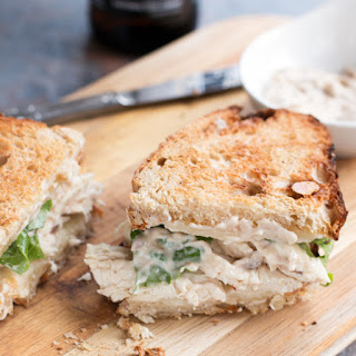 Chicken Caesar Sandwich.