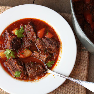 Hungarian Goulash (Beef Stew With Paprika).
