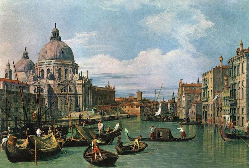 Photo: The Grand Canal and the Church of the Salute