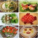 طرق فنية لتزيين الأكل و السلطات icon