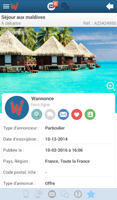 Wannonce - screenshot