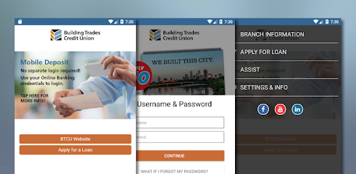 Building Trades Credit Union app (apk) free download for Android/PC/Windows screenshot