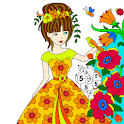 Beauty Color by Number - Girls Coloring Book Pages icon