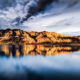 Lake Hawea by O Miles - Landscapes Mountains & Hills