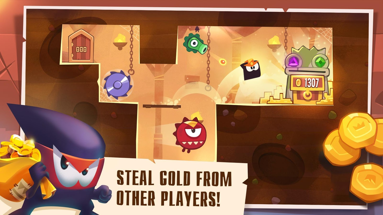 Screenshots of King of Thieves for iPhone