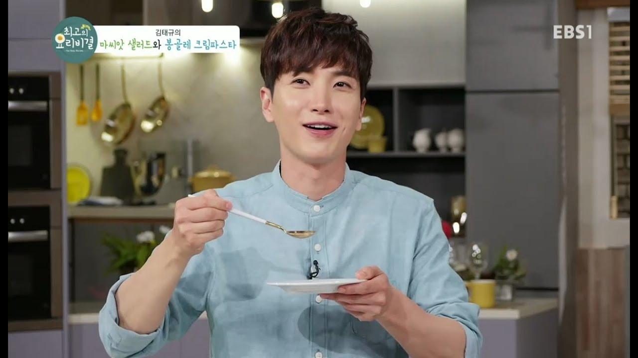 pemimpin Super Junior satu ini adalah idol yang paling berpengalaman di dapur.