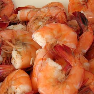 Boiled Shrimp.