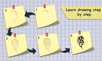 How To Draw Tattoo : Learning - screenshot thumbnail 07