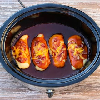 Crock Pot BBQ Chicken.