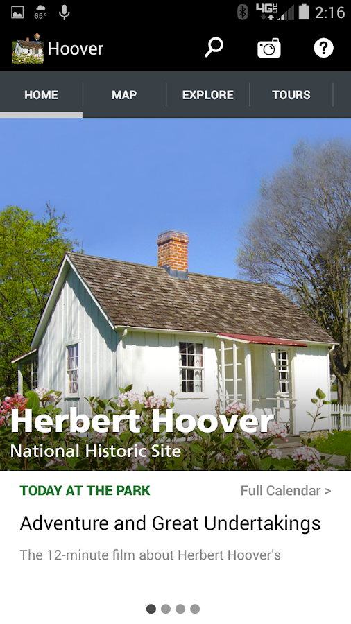 NPS Herbert Hoover- screenshot