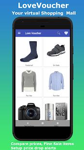 LoveVoucher - Shopping App - náhled