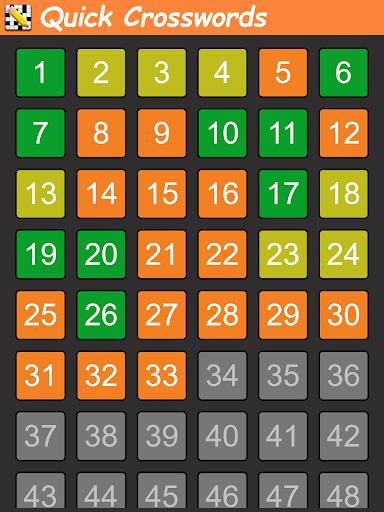Code Triche Quick Crosswords (English) APK MOD screenshots 5