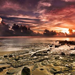 sunrise andaman 1 by Sourav Tripathi - Landscapes Beaches
