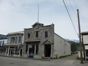 Photo: Arctic Brotherhood meeting hall, Skagway