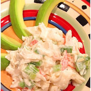 Low Carb Crab Salad