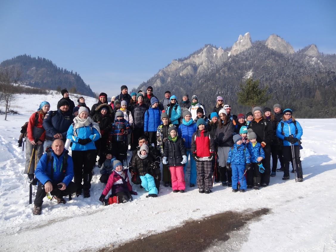 Zimowa wycieczka w Pieniny