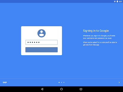 Google Authenticator: miniatuur van screenshot