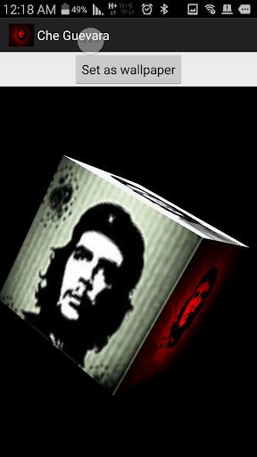 Che Guevara Rotating Cube lwp