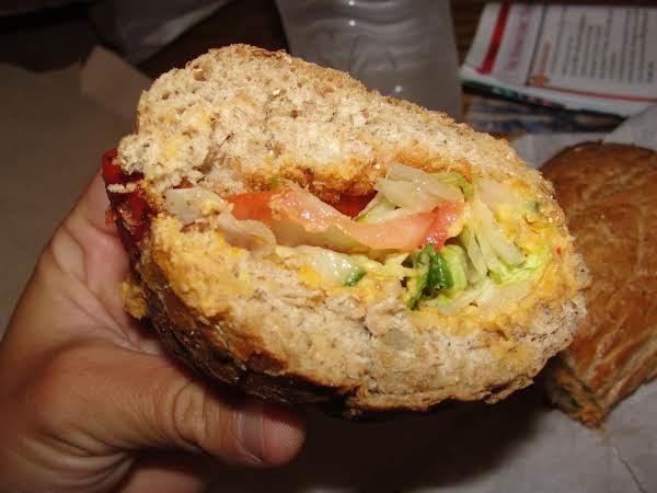 Mediterranean Sandwich With Feta And Artichoke Recipe