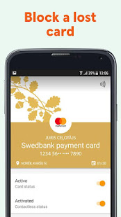 App Swedbank Latvia APK for Windows Phone