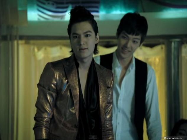 kim woo bin and lee min ho