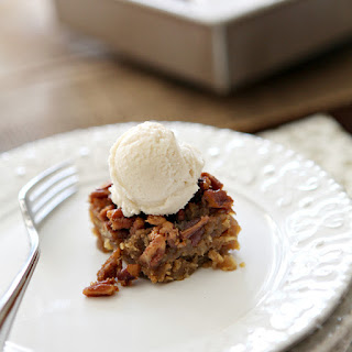 Drunken Pecan Pie Bars