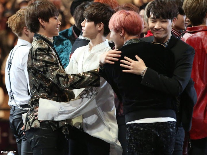 The 9 Cutest Idol Interactions From Mama 2016 Koreaboo