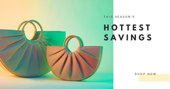 Hottest Savings Show Now - Facebook Ad Template