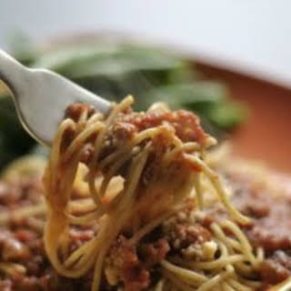 Down Home Spaghetti Sauce.