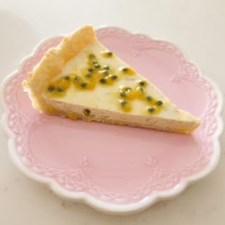 Passion Fruit Yogurt Tart