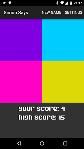 Simon Says - Color Memory Game