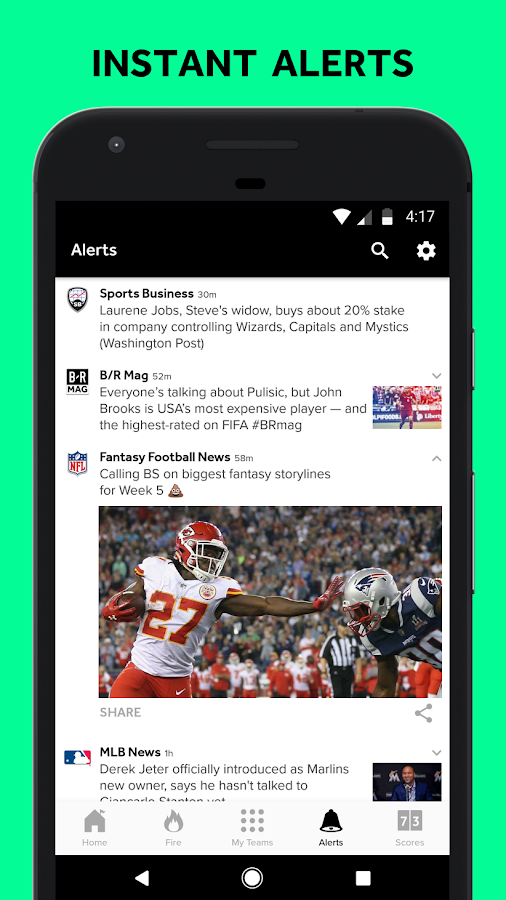 Bleacher Report: sports news, scores, & highlights- screenshot