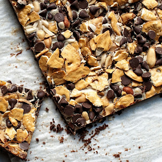 Cowboy 7 Layer Cookie Bars.