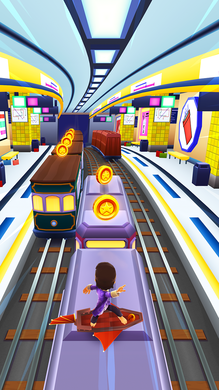Subway Surfers Mod APK (Unlimited Coin/Key) Download 3