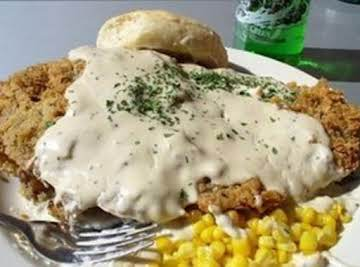 Country Fried Steak with SawMill Gravy