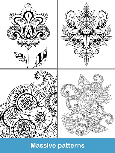 100 Mandala Coloring Pages Screenshot 14