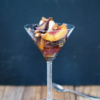 Roasted Peaches and Figs with Mascarpone Recipe